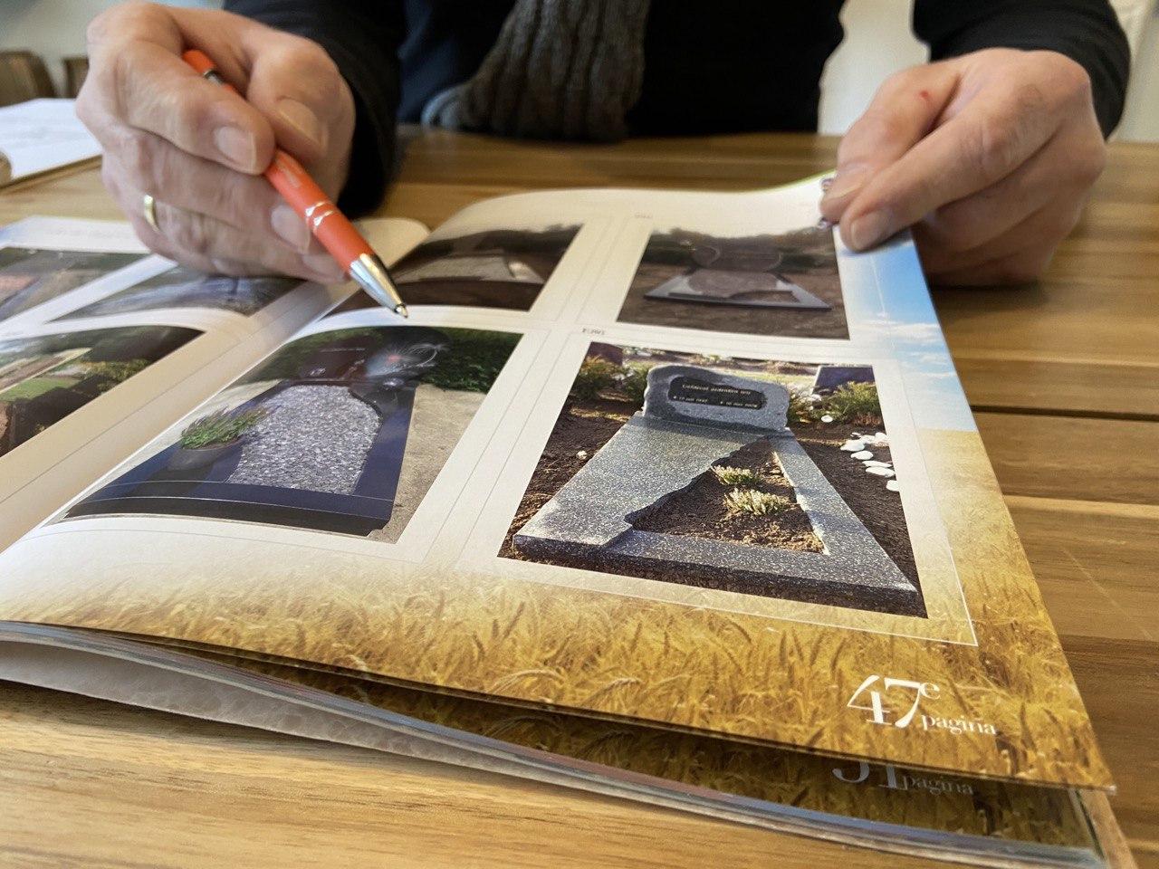 grafsteen inspiratie fotoboek